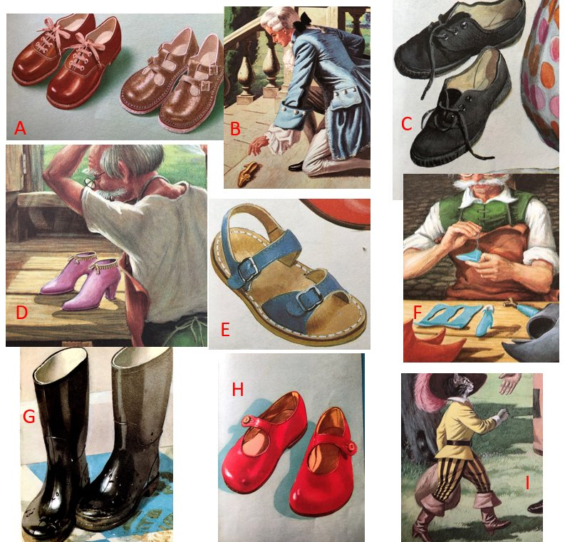 Time again to let the nation decide. Ladybird shoes. Which were the best Ladybird shoes?  (Reply below with the letter of your choice, then spread the word)