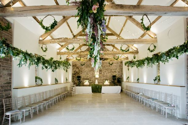 Set in its beautiful grounds of Tall John's House  is our blank canvas wedding venue in our wonderful stone Barn, which has been completely restored to make the perfect wedding venue   @talljohnwedding  #wedding #weddingvenue #powys #wales