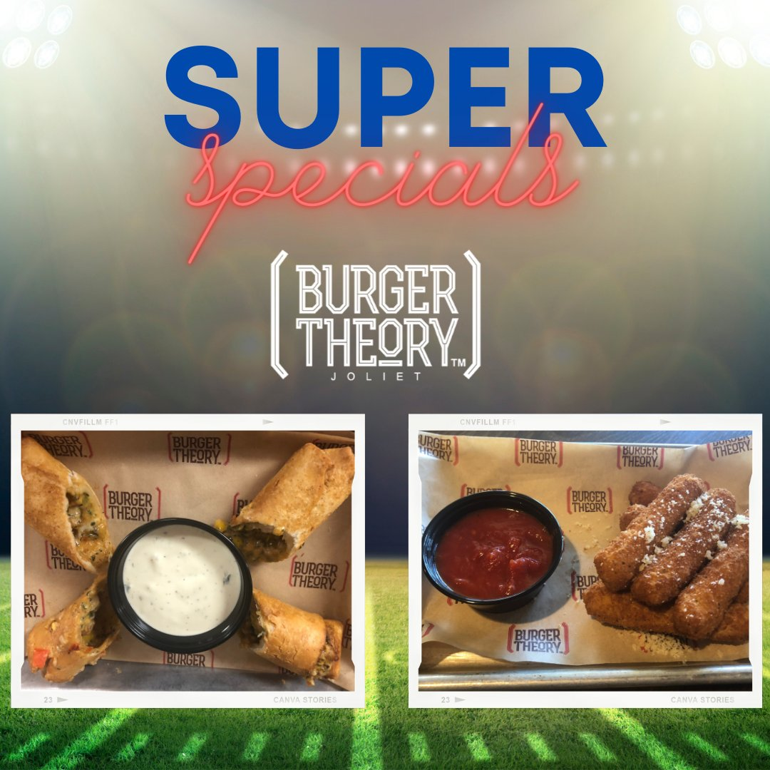 Our Super Specials go great with the game! 🏈  #sundayvibes