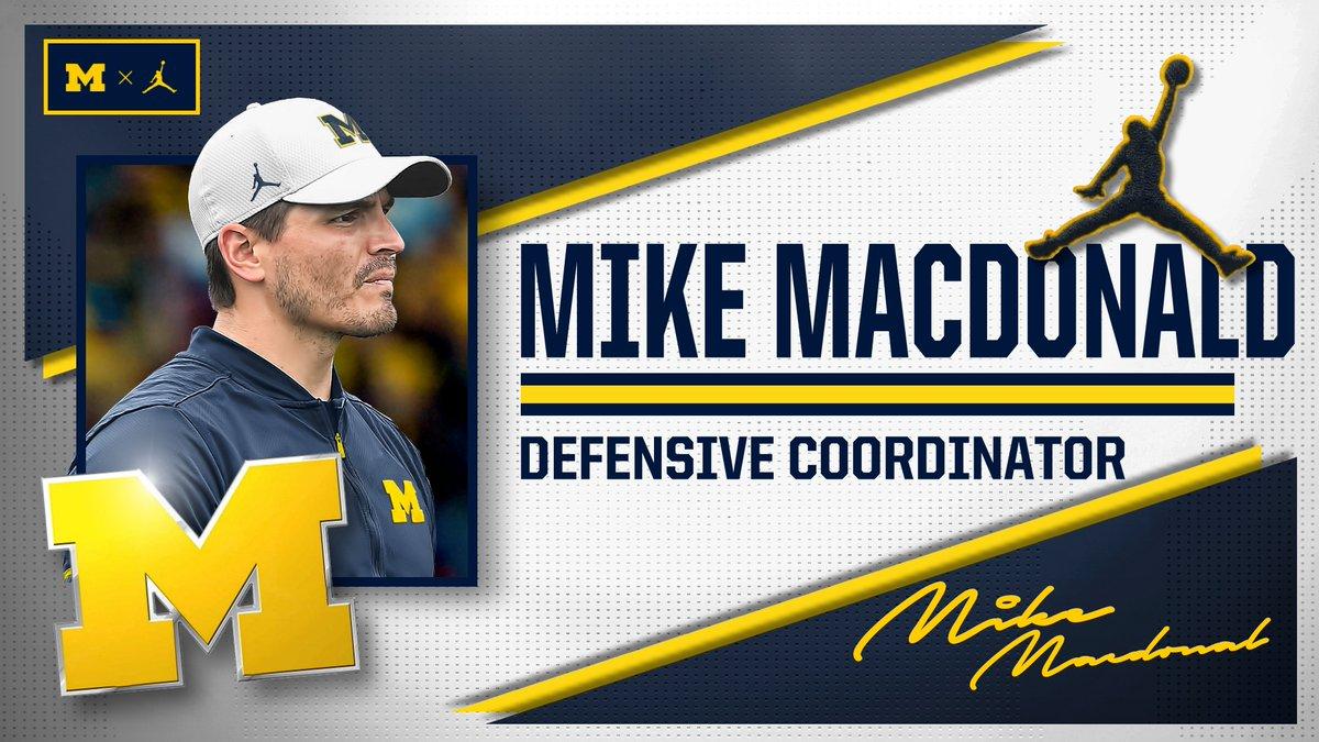 OFFICIAL: Mike Macdonald Named Michigan's Defensive Coordinator   📃 » https://t.co/7LlqGxnDpJ https://t.co/4xZRiAvqIc