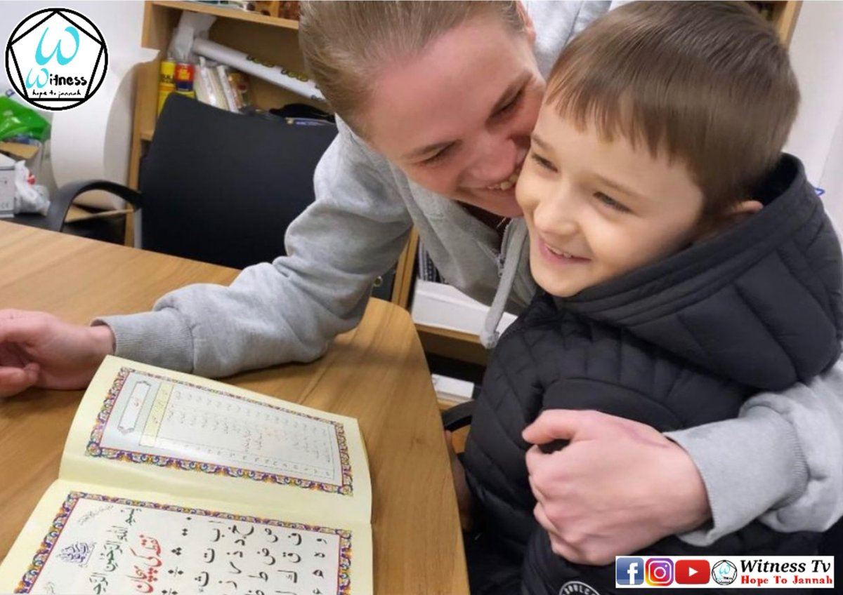 RUDY, LEARNING HIS FIRST LETTERS OF THE QURAN WITH HIS MOTHER💚👇 https://t.co/73KlxPYD5m  #uk #uknews #news #breakingnews #globalnews #global #hr #un #trending #convert #revert #charity #love #peace #humanity #humanrights #muslim #islam #islamicnews #muslimnews https://t.co/mndZsGtqO9