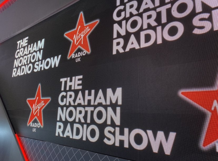 So excited to have just worked my first weekend on #TheGrahamNortonRadioShow   I feel incredibly lucky to be part of the  @VirginRadioUK team surrounded by so many amazing people, and very grateful for the opportunity!  Join in the fun on Saturdays and Sundays from 9.30am 📻