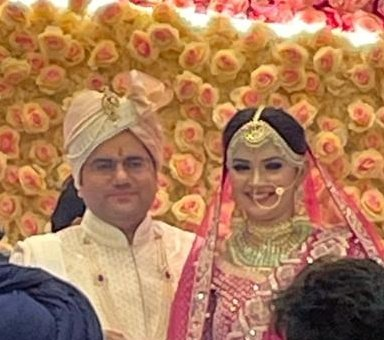 """Replying to @ashishMib: """"Congratulations on your wedding @akashtomarips ji...My  best wishes for a happy life together!"""""""