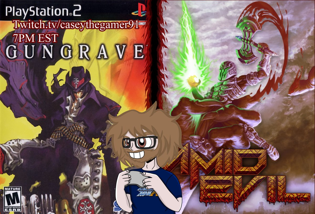 And I'm live!!  #Gungrave #PS2 #AMIDEVIL #Anime #Twitch #TwitchStreamers #videogames