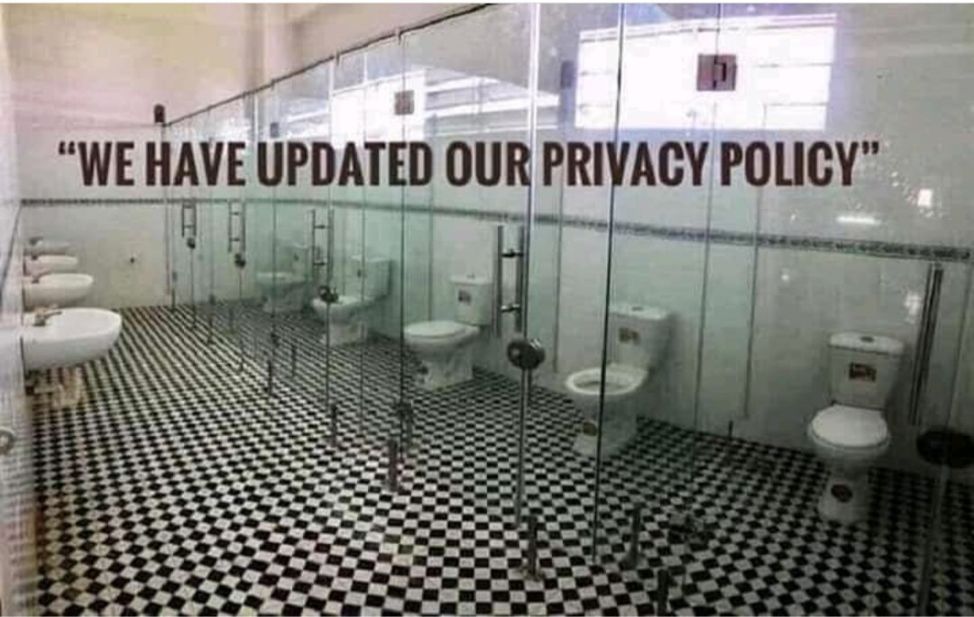 That's the best image I found explaining the new #WhatsApp privacy policy 😂. #Signal #Telegram #Memes #programming #coding #Security #100DaysOfCode #Python #CyberSecurity https://t.co/LVr5neXIEM