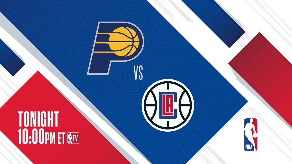 #2 in the West vs. #3 in the East! ▪️ LAC: 9-4, seeking 4 in a row ▪️ IND: 8-4, seeking 3 in a row @Pacers visit @LAClippers at 10pm/et on NBA TV.