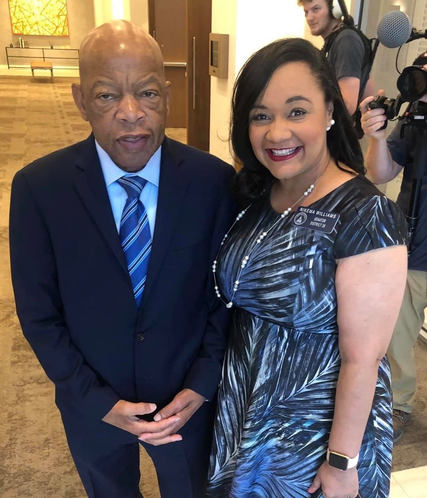 "Six months ago we lost a true patriot and humanitarian, Congressman John Lewis.  The domestic terrorist attack on the U.S. Capitol reminded me that now more than ever, we must heed his call for every generation to do its part to build the ""Beloved Community"" he envisioned."