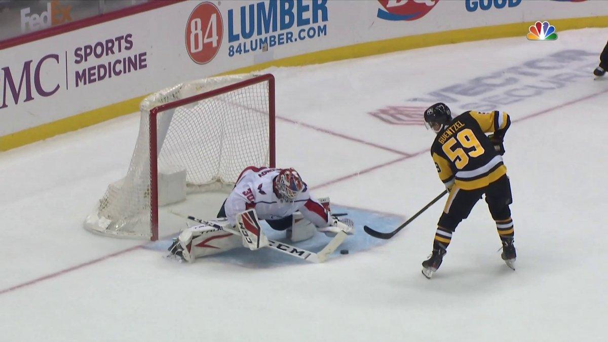 Replying to @NHLonNBCSports: The game-winner in the shootout from @jakenbake20. 👀💥  #LetsGoPens   @penguins