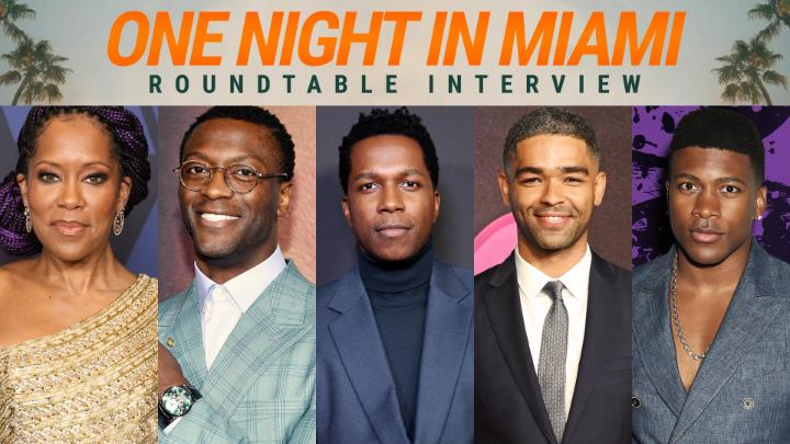 Director @ReginaKing and the cast of #OneNightInMiami reveal the first time they saw themselves reflected on screen, and dive deep into roles that inspired them. @AldisHodge @leslieodomjr @TheRealEliGoree @kingsleybenadir