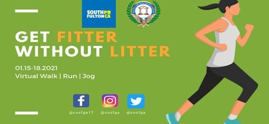 Kicked off MLK holiday with our city's Get Fitter Without Litter Campaign. Thanks to everyone who picked up supplies to help #cleanup the #community as we walked, ran and jogged to stay fit and kelp keep #SouthFulton Clean!    #cosf #southfultonstrong #cosfd1 #southfultoncounty