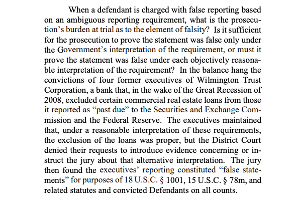 """I followed this closely. Not only because of my attorney & because their trial was a few months before mine, but because as any of us #Libor defendants know, """"false statements"""" WHEN following the rules, because #DOJ/#FBI prosecutors CREATES their own rules; Inherently unjust."""
