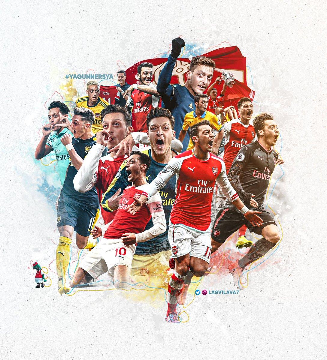 Replying to @Lagvilava7: Thank You! 〽️ @MesutOzil1088  #YaGunnersYa #Arsenal @arsenal