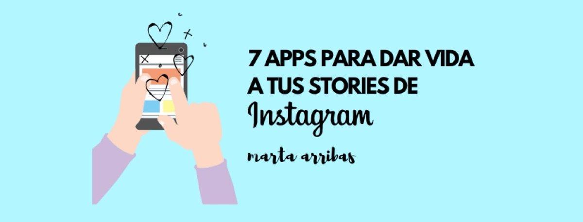 ¿Quieres animar fotos y vídeos para Stories de Instagram?  MartaArribasSan nos recomienda  7 Apps súper fáciles para crear contenido atractivo y de calidad    👉https://t.co/JseJwT5nku  #MarketingDigital #apps #InstagramStories https://t.co/Ya6sZ5Fxs9 por https://t.co/Juu22YZNnW