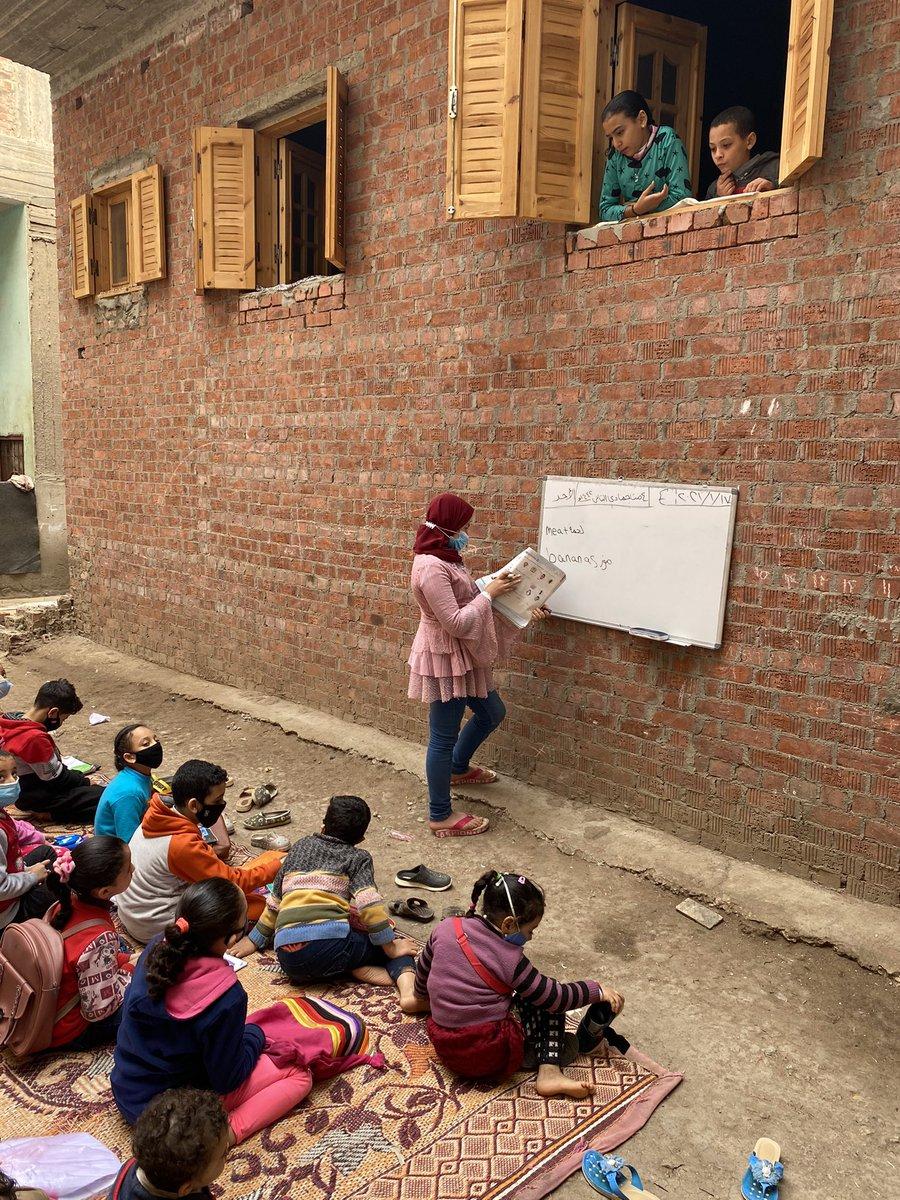 In Österreich bedeuten #corona geschlossene #Schulen Online-Unterricht, in vielen Teilen der Welt, haben die Kinder keine Computer und der Unterricht fällt ganz aus.. Ein 12jähriges Mädchen stemmt sich in einem Dorf im Nildelta #Ägypten dagegen. Unsere Geschichte gleich #zib2 https://t.co/oLUkjQfSEs