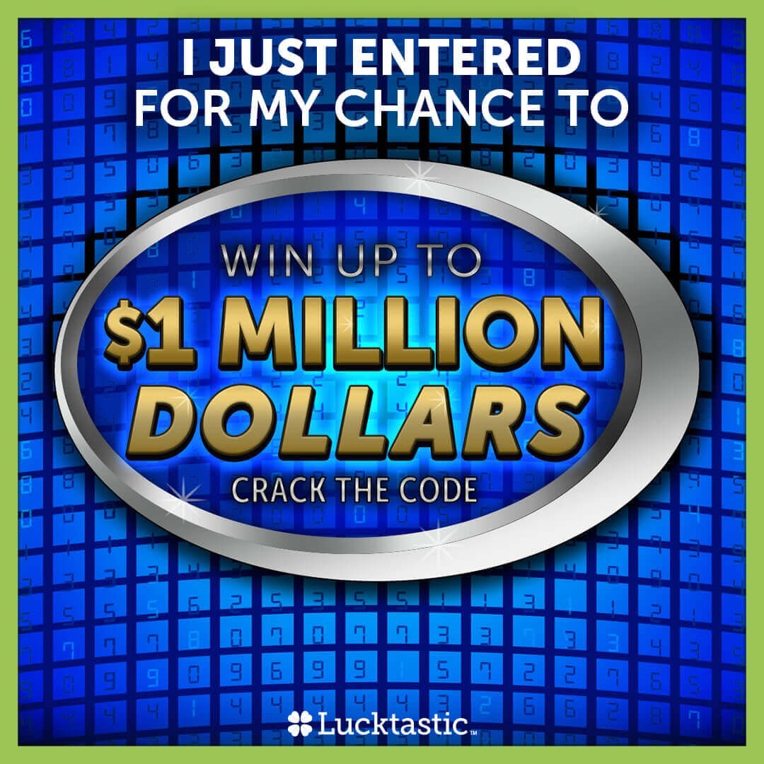 I just entered for a chance to win a million dollars, what about you?  #trythis