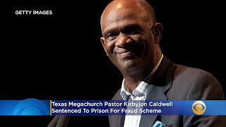 Kirbyjon H. Caldwell was sentenced to 6 years for investment fraud scheme. He received $900,000 which he used 2 maintain his lifestyle & pay down credit cards, mortgages. He was spiritual advisor for Barack Obama & George W. Bush #Jesus #criminals #criminal #pastors #prison #USA