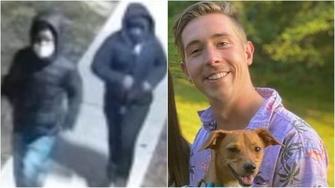 """""""He was the kindest person in the entire world. This is so screwed up.""""  The Philadelphia police department has released chilling video showing the moments leading up to the cold-blooded murder of a man walking his dog."""