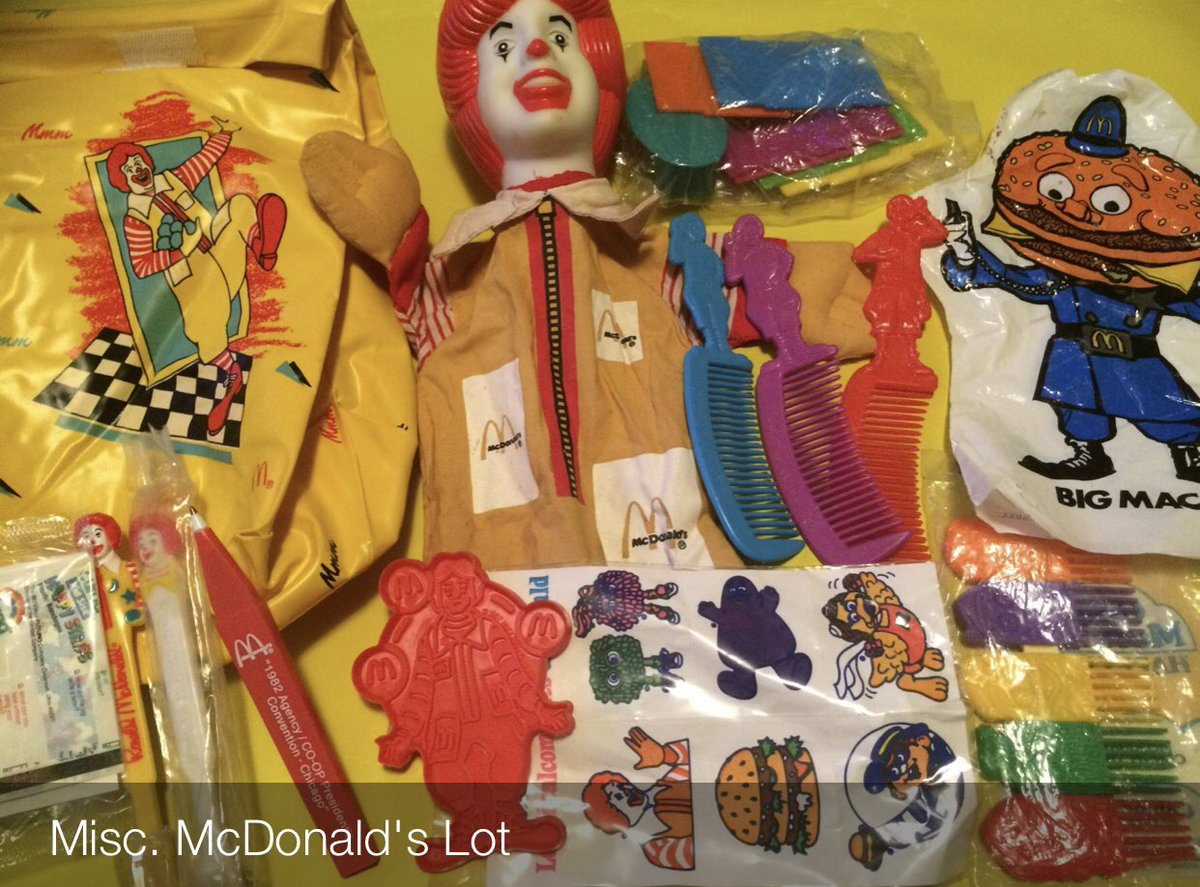 McDonald's Had Some of the Best Toys EVER.  #Mcdonalds #FastFood #Food #HappyMealToys #HappyMealToy #HappyMeals #HappyMeal