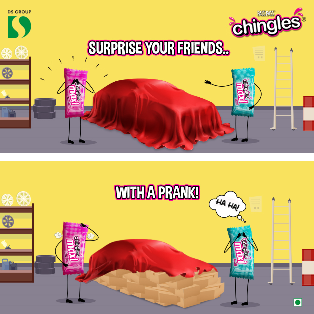 Another prank accomplished! Tag the people you want to try this prank on!   #AajLeeKya #ChinglesLeeKya #MaxiLeekya #fun #masti #pranksters #pranks