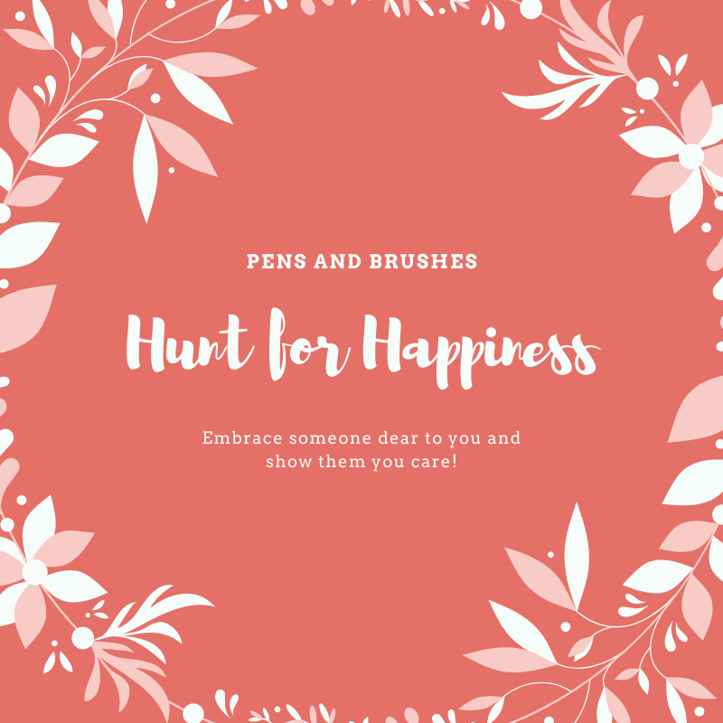Don't forget to check our daily content on our website. This week we have a hunt for happiness quotes.  For more updates click follow. For content visit our website. link in bio  #HuntForHappiness  #happiness  #behappy  #happy  #quotes  #dailyquotes   #pensandbrushes