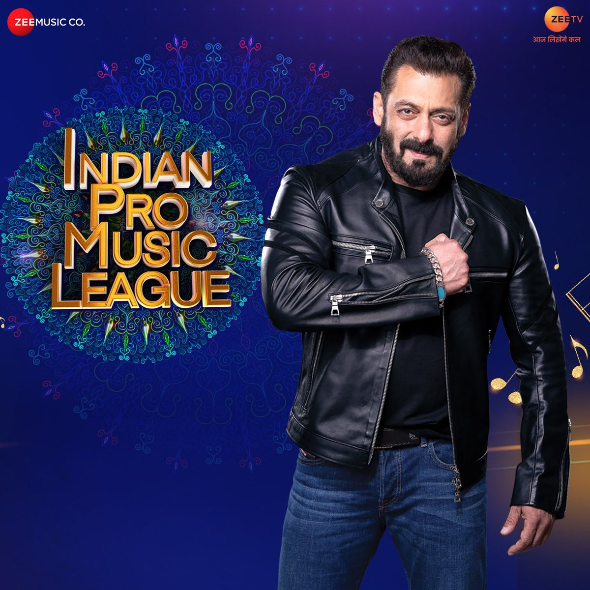 @BeingSalmanKhan as the brand ambassador of Indian Pro Music League, Watch Anthem #IPMLonZeeTV