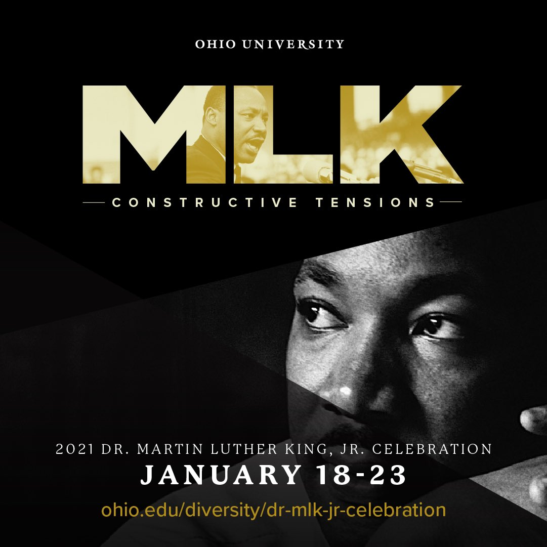 Join us this week for a five-day-long celebration of Martin Luther King Jr! Throughout the week, there will be several events honoring his legacy and addressing activism. Check out the event list below! https://t.co/6hvcOKVsFE