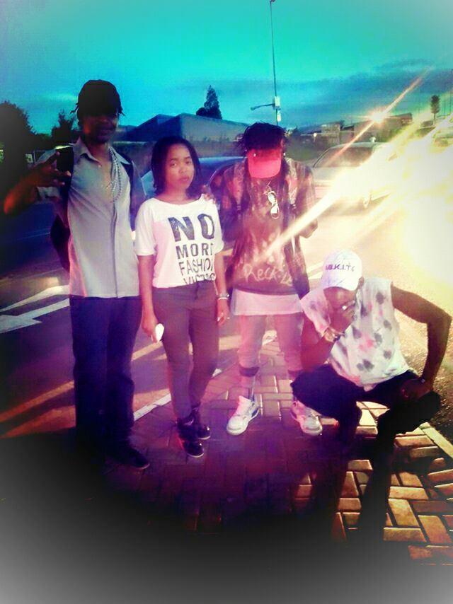 @smangresh6 and the crew...#precious