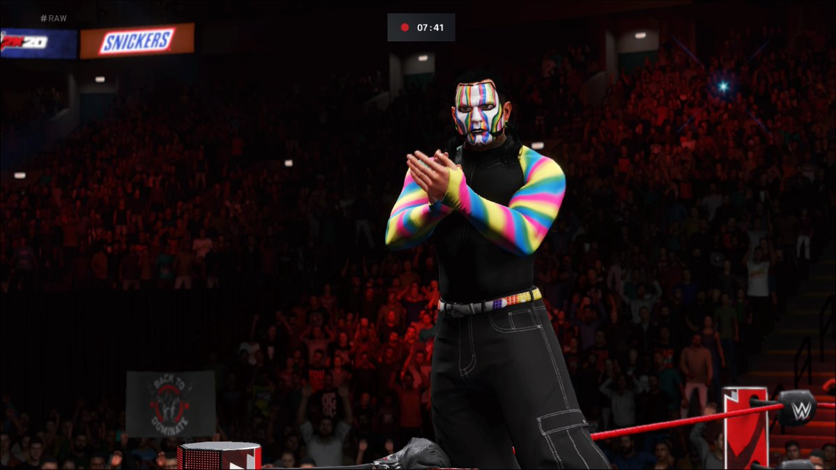 #HardcoreChampion #JeffHardy pulls off the upset and squashes the #TheHurtBusiness' #Almighty #BobbyLashley!   #WWE #2K20 #WWE2K20 #RAW #WWERAW #NXT #WWENXT #SmackDown #Wrestle #Wrestling #ProWrestling