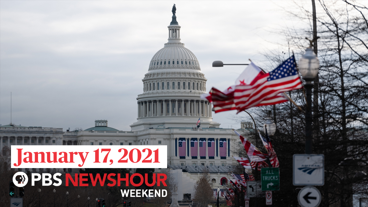 Sun.@NewsHour Weekend w/@hari: inauguration security w/ @cgbooker in PA; @WOSU's @karenkasler; @freep's @Dave_Boucher1; @rickeybevington @gpbnews; @MoriRothman with @OPB's @MrOlmos  & @Yamiche & @greenfield64 on presidential transition. Live at 5pm/ET or check local listings.