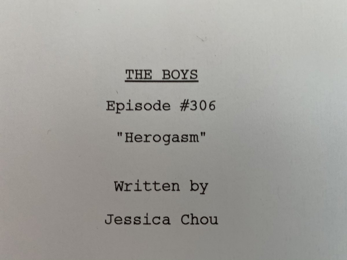 From day one, everyone dared me to make this episode. CHALLENGE MET MOTHERFUCKERS  #TheBoys #TheBoysTV @TheBoysTV @PrimeVideo @SPTV #SPNFamily @Sethrogen @evandgoldberg