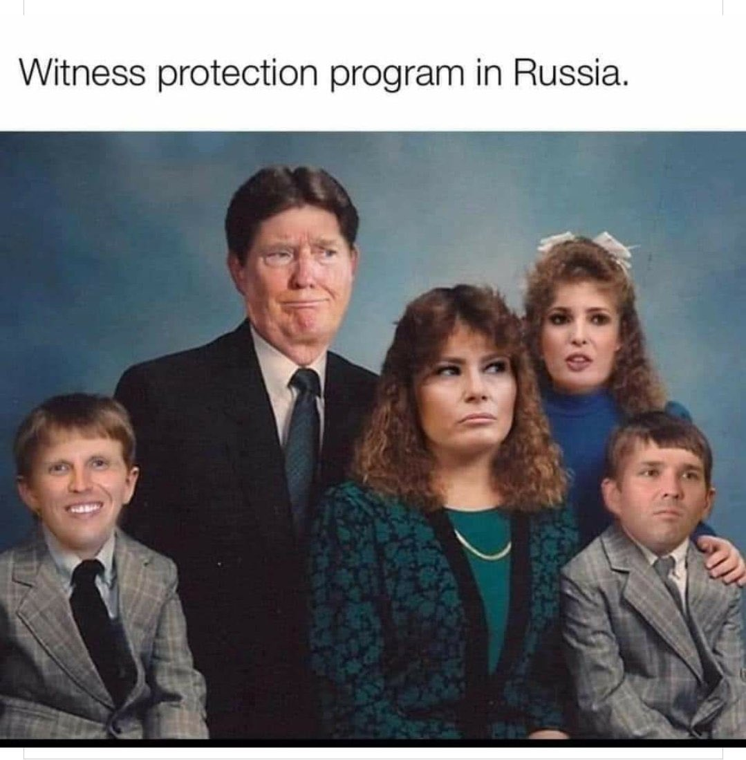 Kremlin whiteness protection   Be on the lookout.   #TrumpSeriesFinale