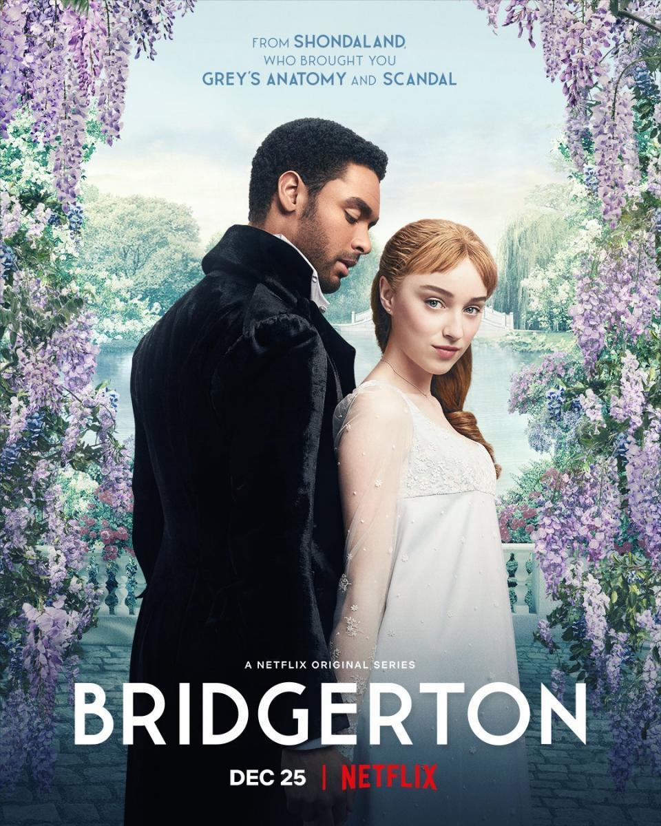 Bridgerton ⭐⭐⭐⭐⭐ #Netflix   Es una mezcla de Gossip Girl, con la parte sexual de Game of Thrones y un toque de To All the Boys pero ambientado a la antigua.  Reseña completa en 👇🏻