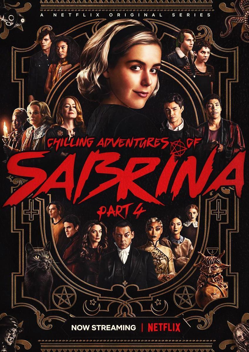 Chilling Adventures of Sabrina (Part 4)  ⭐⭐⭐⭐ #Netflix   No es la mejor temporada, pero tuvo un final que nadie se esperaba.  20 puntos al traer a las tias de la serie original 👌🏻  Reseña completa en 👇🏻
