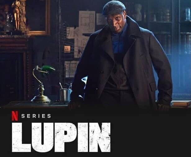 Enjoying this 🍿🍷 #Lupin #Netflix