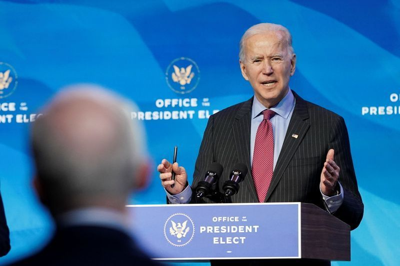 U.S. President-elect Joe Biden will wait for a recommendation from his intelligence advisers on whether to share classified information with President Donald Trump after the Republican leaves office, Biden's top aide said on Sunday https://t.co/thxLRu7X9L https://t.co/8By8zxpNJK