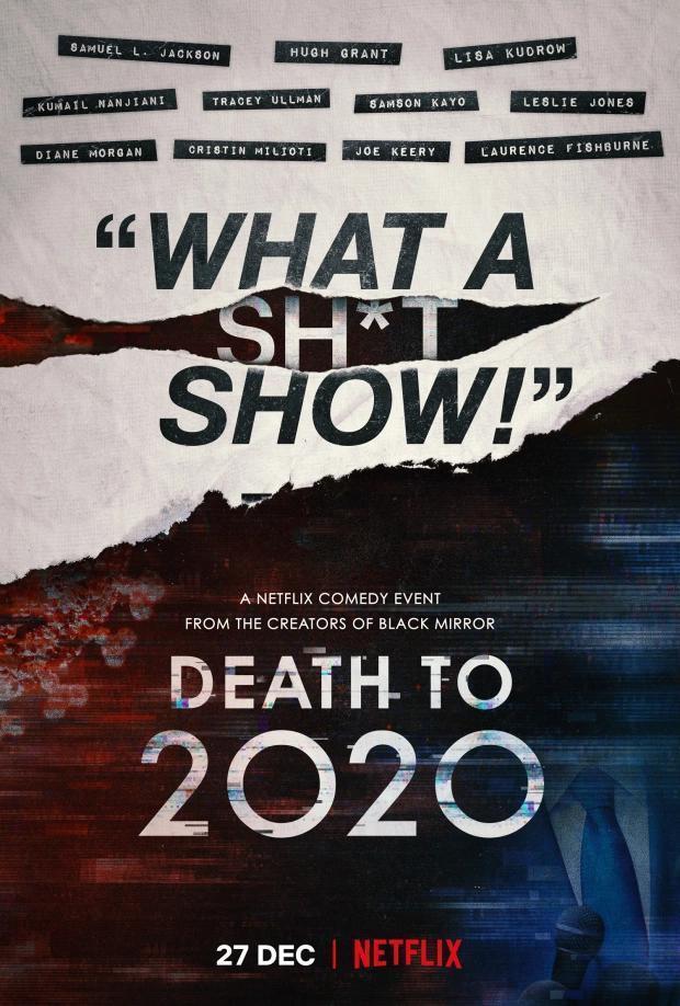 Death to 2020 ⭐⭐⭐ #Netflix   De los creadores de Black Mirror. Un poco de locura para superar y despedir la locura de año que fue el 2020.  Reseña completa en 👇🏻