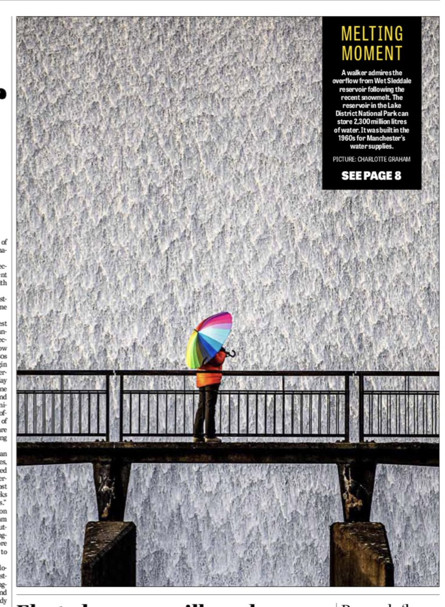 Amazing #photography in @yorkshirepost by @MadCowFudge #buyapaper subscribe today. Thank you