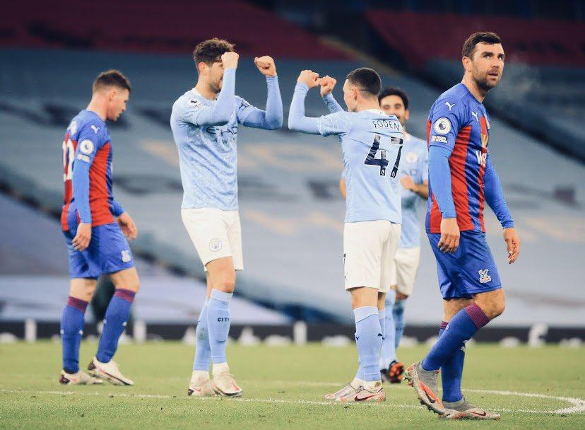 Replying to @PhilFoden: The man can't stop!!