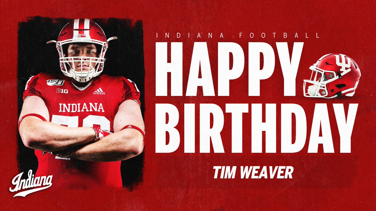 Replying to @IndianaFootball: 😙💨🎂  @tweaver1108 | #LEO