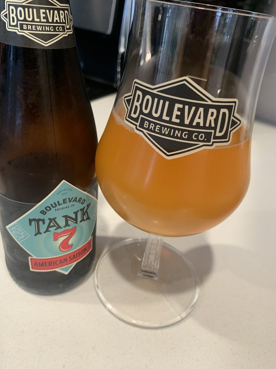 Always the right time for @Boulevard_Beer Tank 7. #RunItBack