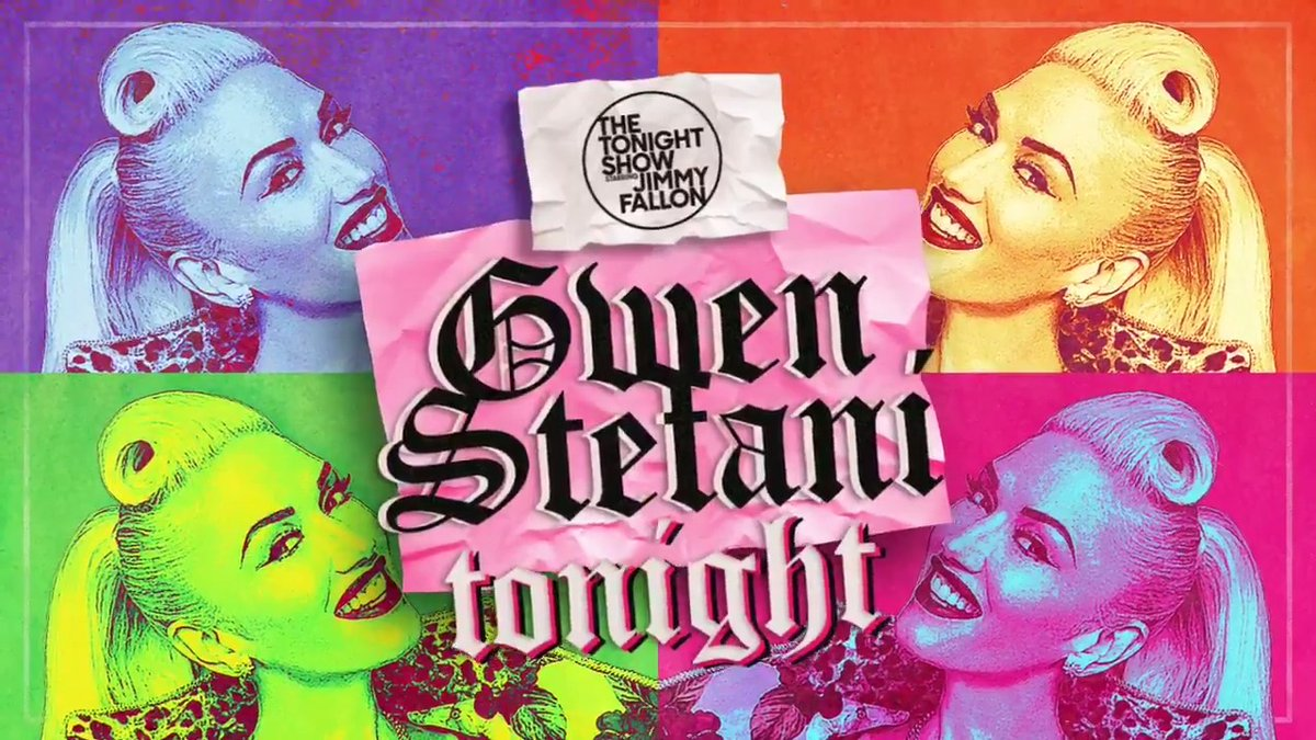 🎵 What You Waiting For?! 🎵  11:35PM ET!  @GwenStefani sits down with Jimmy + performs TONIGHT! #FallonTonight