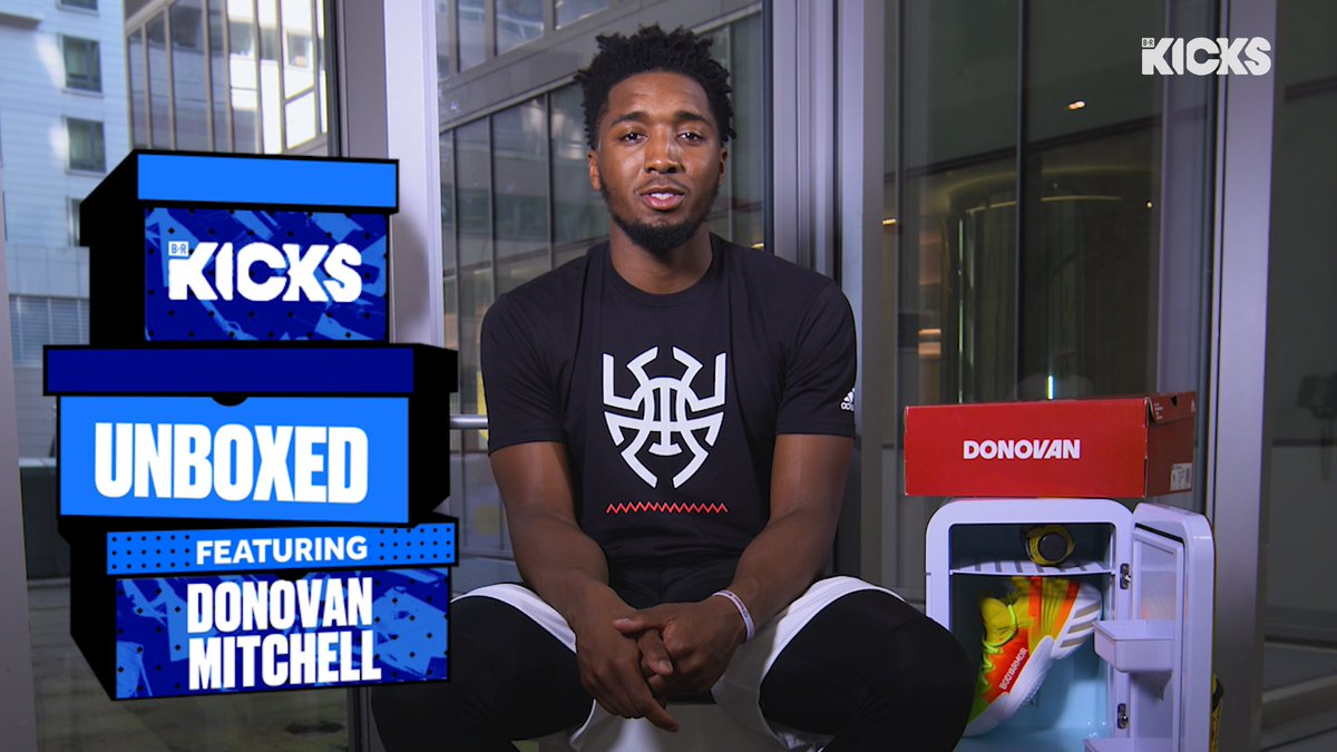 .@spidadmitchell unboxes 1 of 100 BODYARMOR x Adidas collab 📦  Full episode of Unboxed on YouTube: