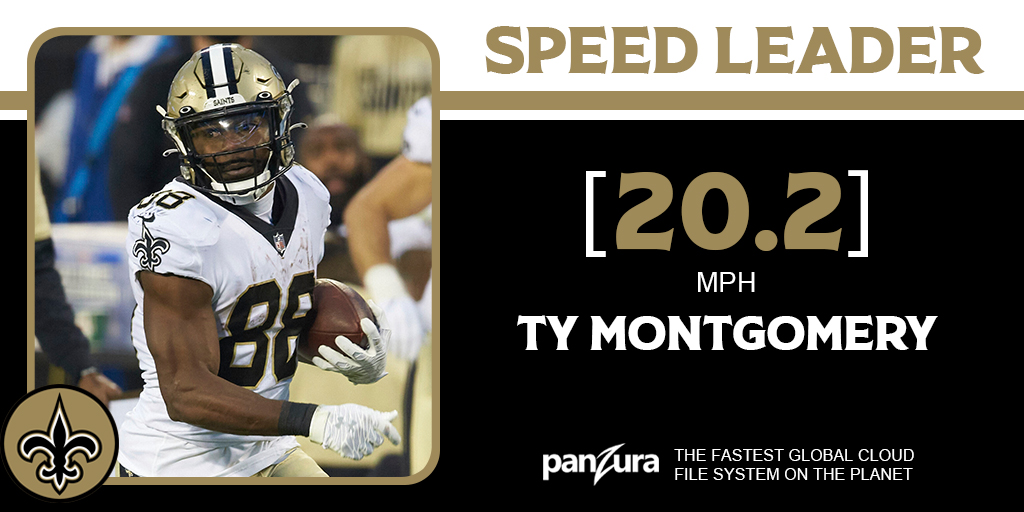 Stepped up, delivered a 100-yard game and Ty could FLY! 🔥  #Saints   @PanzuraStorage https://t.co/6qDy2Wvyp7