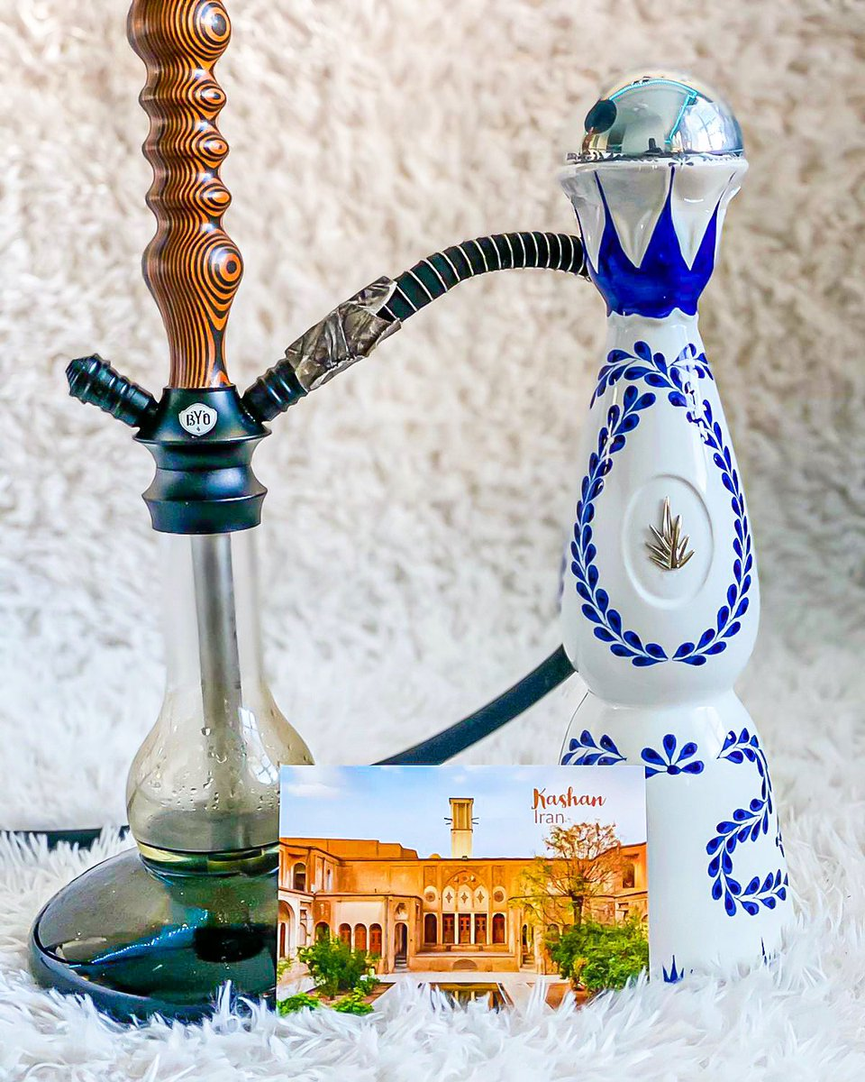 Greetings from #Kashan, 🇮🇷 with the very best tequila - @claseazultequila   #ClaseAzul #ClaseAzulTequila #Tequila #Premium #VirDir