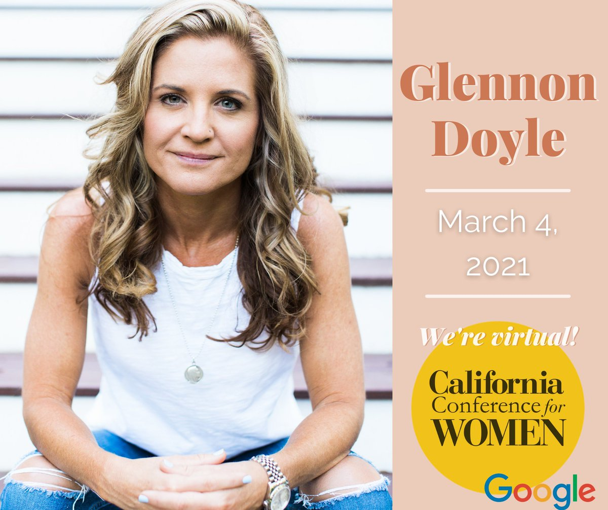 Are you ready to #GetUntamed, California? The Love Warrior herself @GlennonDoyle is joining us this March for our first-ever California Conference for Women, and we want YOU to be there! Grab your ticket now while Early Bird pricing is still available.