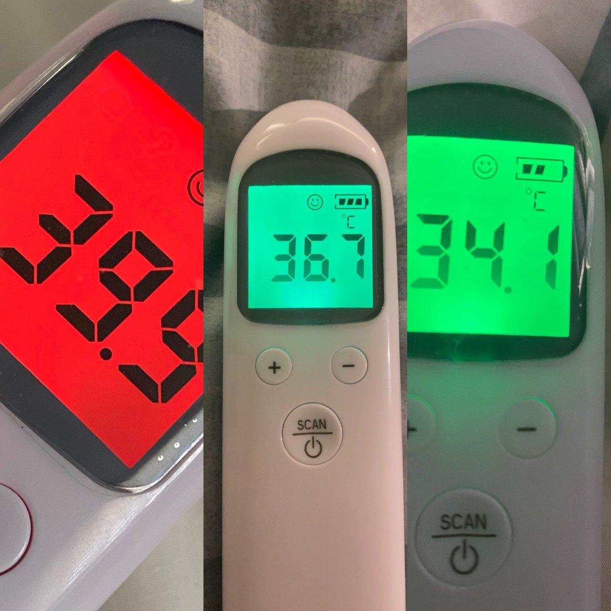 違う が 体温 たび 測る に