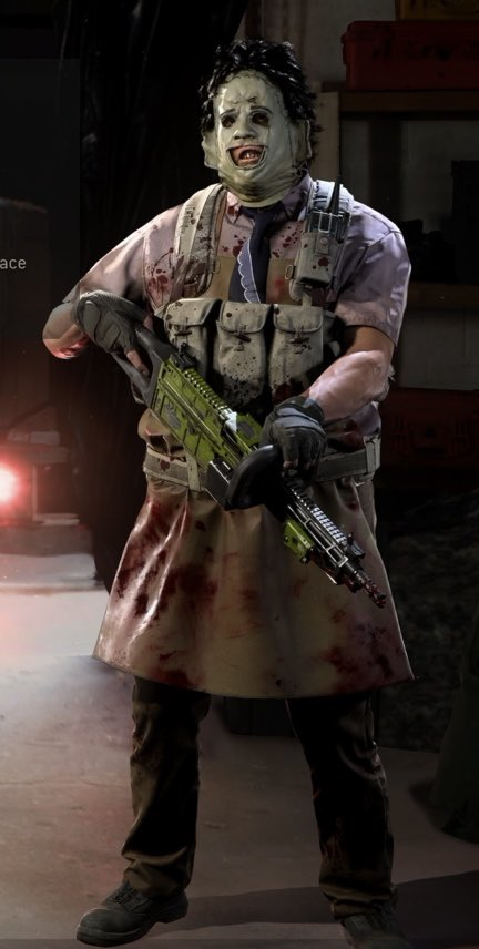 Leatherface - Call of Duty: Modern Warfare Minecraft Skin