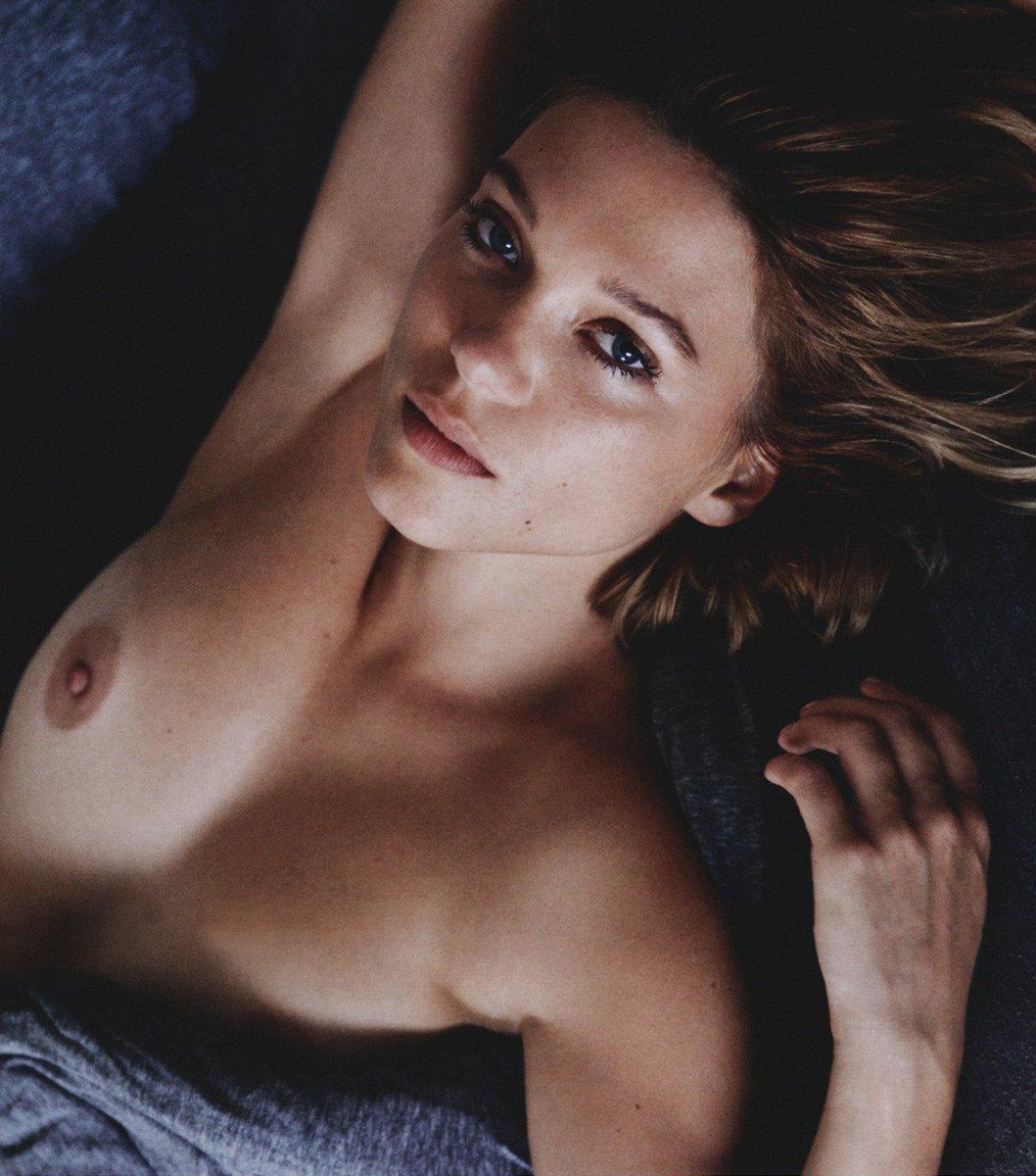 Léa Seydoux – Lui Magazine (2013)  – Celeb Nudity