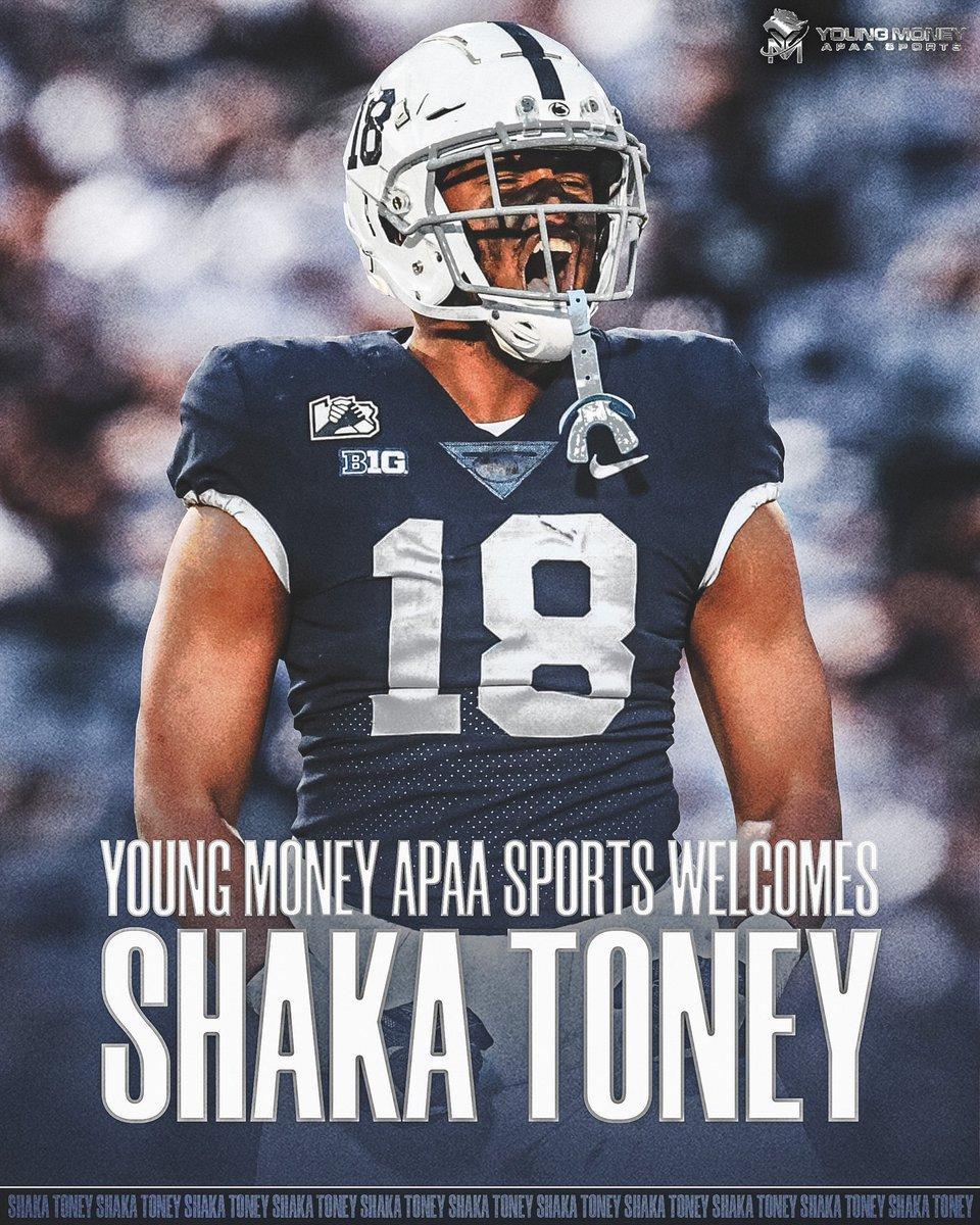Welcome to the FAMILY! @SackA_Toney   #YMAPAA #PennState