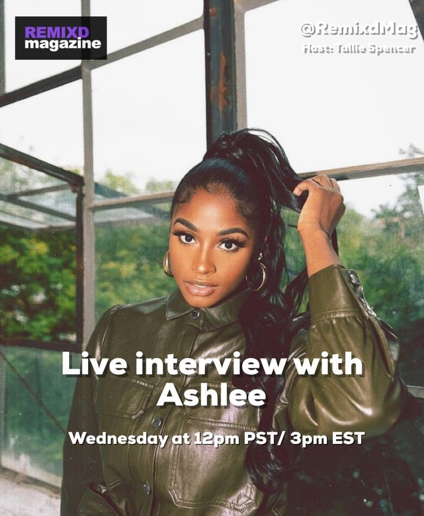 If you don't follow me on Instagram @ashlitaaaa  go ahead a do so, tomorrow I'll be on my live 3pmEST for my interview with @REMIXmagazine hosted by Tallie Spencer. See you there ❤️